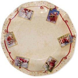 piatti di carta natalizi
