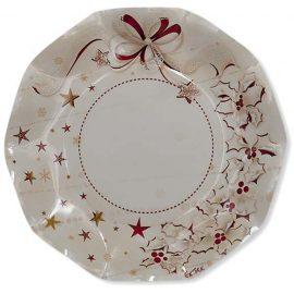 piatti di carta di Natale