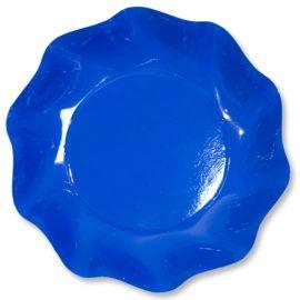 coppette di carta blu