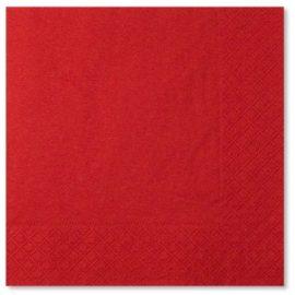 tovaglioli di carta rossi