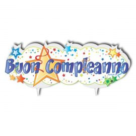 buon compleanno candeline