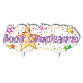 candelina buon compleanno