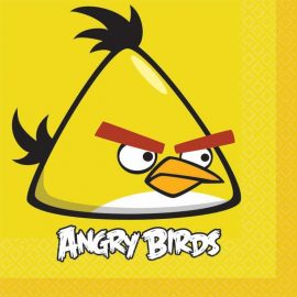 tovaglioli compleanno angry birds
