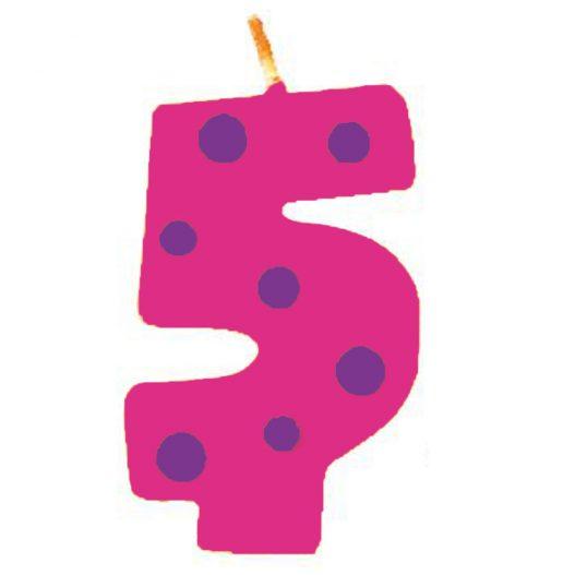 candela 5 anni