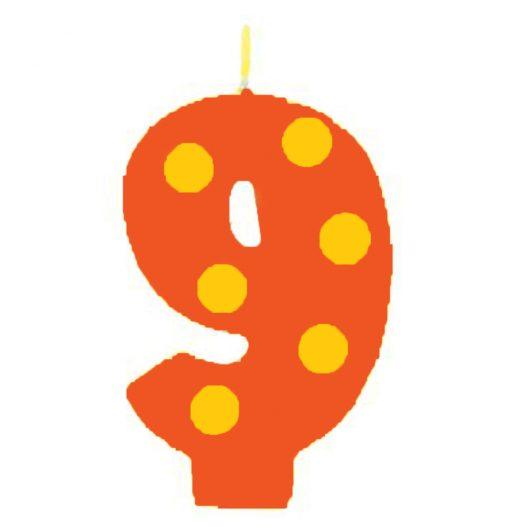 candela numero 9