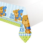 tovaglia primo compleanno orsetto