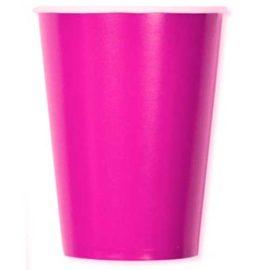 bicchieri-di-carta-fucsia
