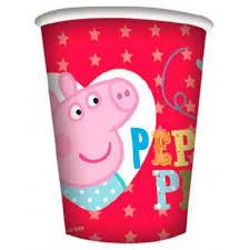 peppa pig bicchieri per feste
