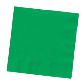 tovaglioli di carta verdi