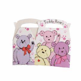 scatola rosa orsetto