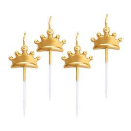 candeline-corona-oro