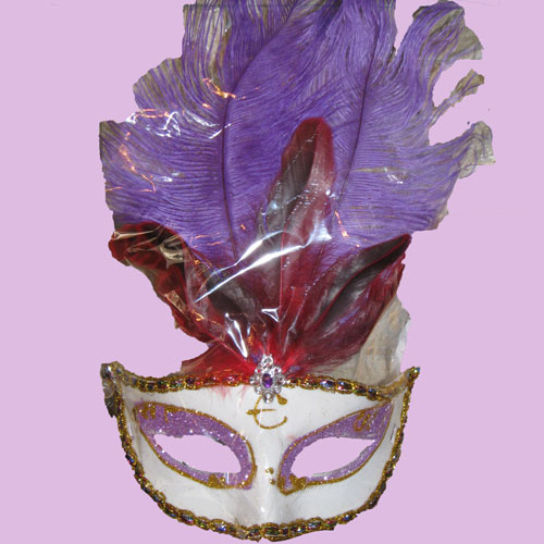maschere-di-carnevale-con-piume-viola