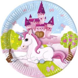 Unicorno con castello