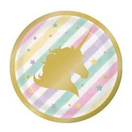 piattini-unicorno dorato